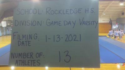 Rockledge High School [Game Day Small Varsity] 2021 UCA January Virtual Challenge