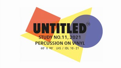 "Lambert HS - ""Untitled, Study no. 11; percussion on vinyl"""