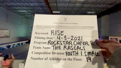 Rockstar Cheer Rhode Island - The Rascals [L1 Youth] 2021 The Regional Summit Virtual Championships