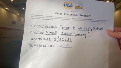 Crown Point High School [Small JV] 2021 UCA February Virtual Challenge