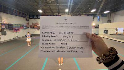 Cheerletics Royalty - WISH [L6 Senior Open] 2021 Spirit Festival Virtual Nationals