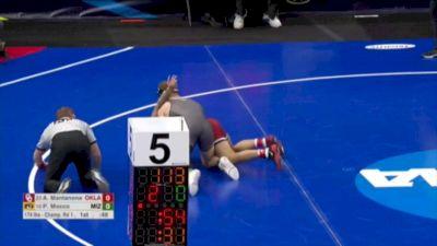 174 m, Anthony Mantanona, Oklahoma vs Peyto Mocco, Missouri