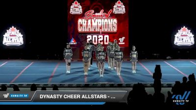 Dynasty Cheer Allstars - Chrome [2020 L4.2 Open Day 2] 2020 PAC Battle Of Champions