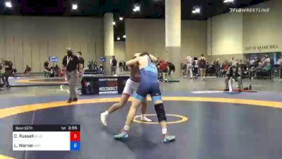 57 kg Consolation - Codi Russell, Blue Ridge RTC vs Luke Werner, Mat Town USA
