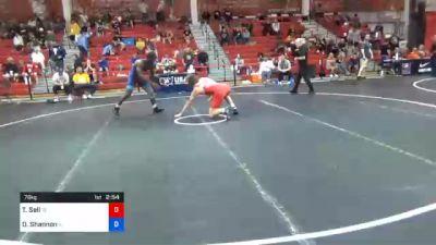 79 kg Prelims - Thomas Sell, Tennessee vs Dj Shannon, Illinois