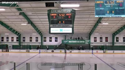 Full Replay - AIC vs Mercyhurst   Atlantic Hockey