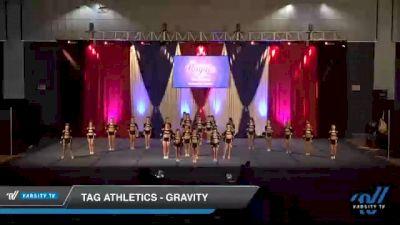 TAG Athletics - Gravity [2021 L3 Senior - D2 - Medium Day 1] 2021 The American Royale DI & DII
