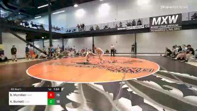 145 lbs Prelims - Brayden Mcmillen, Midwest Xtreme Wrestling vs Kobi Burkett, Elite Athletic Club