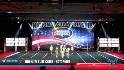 Intensity Elite Cheer - Notorious [2021 L3 Junior - D2 Day 1] 2021 ACP: Midwest World Bid National Championship