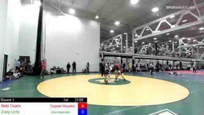 155 lbs Rr Rnd 1 - Nebi Tsarni, Capital Wrestling Club vs Zoey Lints, Journeyman