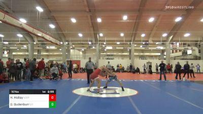 Quarterfinal - Hayden Hidlay, NC State vs Doug Gudenburr, The Citadel