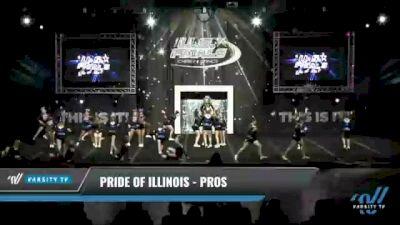 Pride of Illinois - Pros [2021 L2 Junior - D2 - Medium Day 1] 2021 The U.S. Finals: Kansas City
