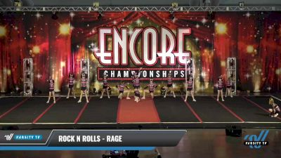 Rock N Rolls - Rage [2021 L2 Youth - D2 Day 1] 2021 Encore Championships: Pittsburgh Area DI & DII