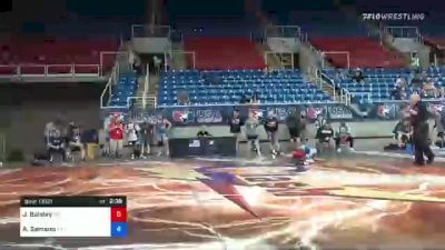 106 lbs Consi Of 16 #2 - Joseph Baisley, North Carolina vs Adrian Samano, Virginia