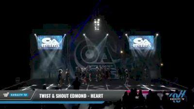 Twist & Shout Edmond - Heart [2021 L5 Junior - Large Day 2] 2021 COA: Midwest National Championship