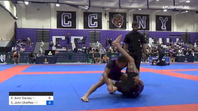 Elijah Amir Dorsey vs Cameron John Chaffee 2019 Pan IBJJF Jiu-Jitsu No-Gi Championship