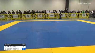 HIAGO GAMA SOUSA vs LUCAS DOS SANTOS PINHEIRO 2020 IBJJF Pan No-Gi Championship