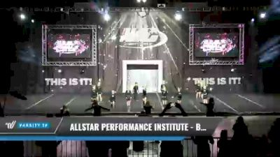 Allstar Performance Institute - Believe [2021 L1 Tiny - Novice - Restrictions Day 1] 2021 The U.S. Finals: Kansas City