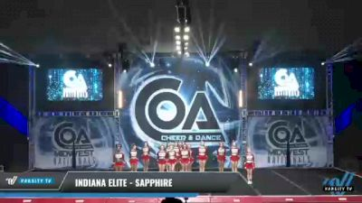 Indiana Elite - Sapphire [2021 L3 Senior - Small Day 2] 2021 COA: Midwest National Championship