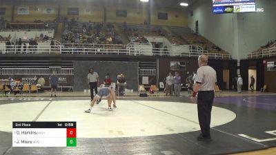 138 lbs 3rd Place - Dalton Harkins, Malvern Prep vs Jonathan Miers, Wyoming Seminary