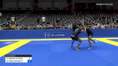 RAFAELA RIBEIRO GUEDES vs MARGARET ROSE GRINDATTI 2021 World IBJJF Jiu-Jitsu No-Gi Championship