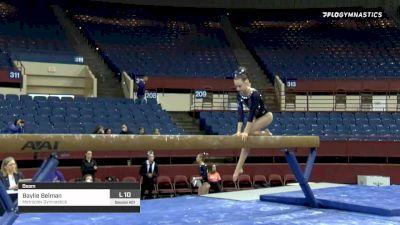 Baylie Belman - Beam, Metroplex Gymnastics - 2020 Metroplex Challenge