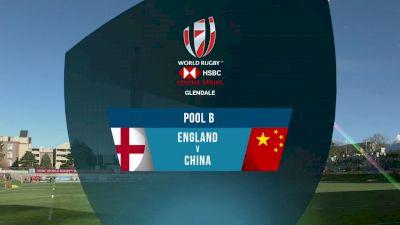 England 7s vs China 7s Pool B | 2018 HSBC Women's 7s Colorado