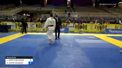 LUIZA MONTEIRO MOURA DA COSTA vs KENDALL MARIE REUSING 2020 Pan Jiu-Jitsu IBJJF Championship