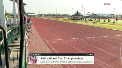 2018 AAU National Club Championships, Day Seven Session I