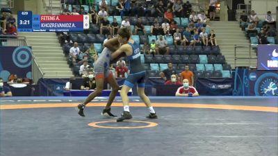 45 kg Final 3-5 - Amare Fetene, Israel vs Anri Khozrevanidze, Georgia