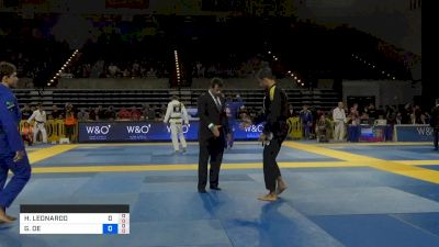 HUGO LEONARDO vs GUTEMBERG PEREIRA 2019 Pan Jiu-Jitsu IBJJF Championship