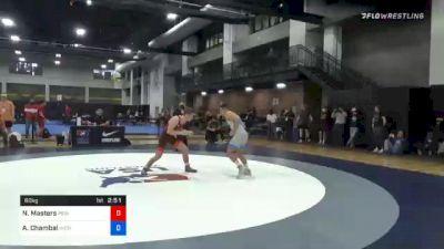 60 kg Prelims - Nick Masters, Princeton Wrestling Club vs Andrew Chambal, Michigan Wrestling CLub