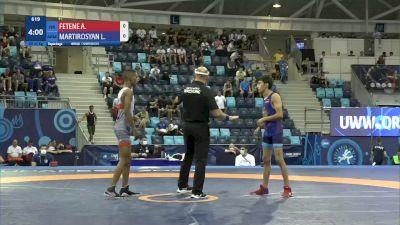 45 kg Repechage #2 - Amare Fetene, Israel vs Levon Martirosyan, Armenia