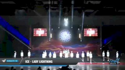ICE - Lady Lightning [2021 L6 Senior - Small Day 1] 2021 GLCC: The Showdown Grand Nationals