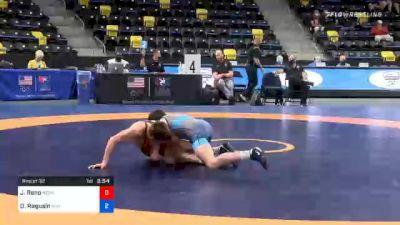 57 kg Prelims - Jeremiah Reno, Nebraska Wrestling Training Center vs Dylan Ragusin, Unattached