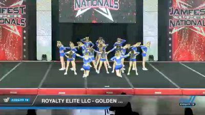Royalty Elite LLC - Golden Empress [2021 L2.2 Junior - PREP Day 1] 2021 JAMfest Cheer Super Nationals