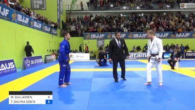 MORTEN GULLAKSEN vs TAINAN DALPRA COSTA 2020 European Jiu-Jitsu IBJJF Championship