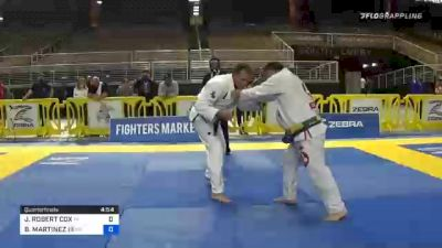 JAMES ROBERT COX vs BARDOMIANO MARTINEZ III 2020 World Master IBJJF Jiu-Jitsu Championship