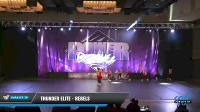 Thunder Elite - Rebels [2021 Youth - Hip Hop Day 1] 2021 ACP Power Dance Nationals & TX State Championship