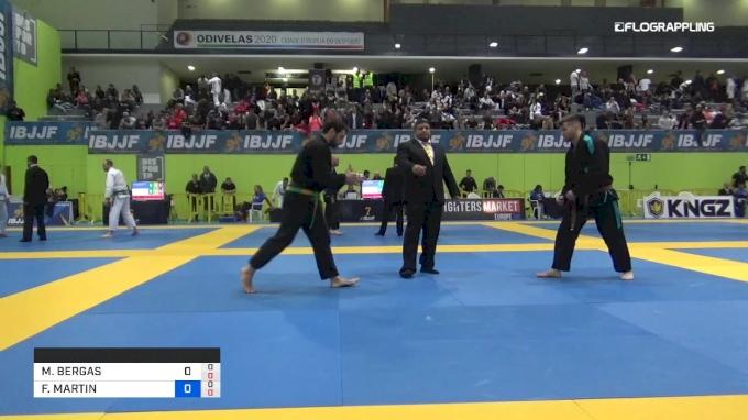 FRANCK MARTIN vs MARC BERGAS 2019 European Jiu-Jitsu IBJJF