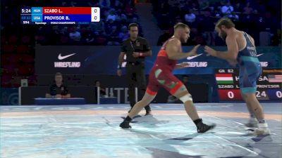 82 kg Repechage #2 - Laszlo Szabo, Hungary vs Benjamin Provisor, United States