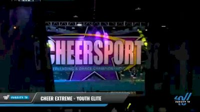 Cheer Extreme - Youth Elite [2021 L5 Youth Day 2] 2021 CHEERSPORT National Cheerleading Championship