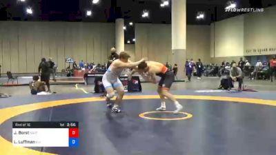 125 kg Prelims - John Borst, Southeast Regional Training Center, Inc vs Luke Luffman, Illinois Regional Training Center/Illini WC