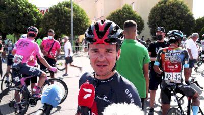 Tom Pidcock Leads Bernal In Vuelta a España Sprint