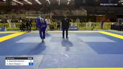 Gustavo Espinolda Batista vs Christopher Devin Passerr 2021 Pan Jiu-Jitsu IBJJF Championship