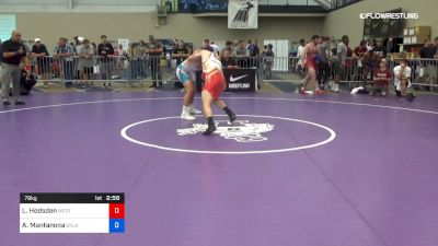 79 kg Round Of 16 - Luke Hodsden, West Point RTC vs Anthony Mantanona, Oklahoma