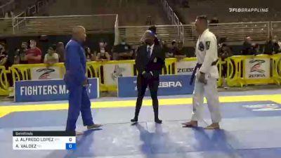 JOSE ALFREDO LOPEZ vs ABRAM VALDEZ 2020 World Master IBJJF Jiu-Jitsu Championship
