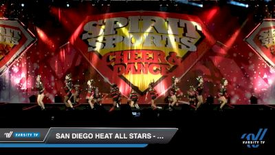 San Diego Heat All Stars - Code Red [2020 L1 Junior - D2 - B Day 2] 2020 Spirit Sports: Duel In The Desert