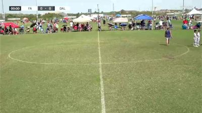 Forms Academy vs. Dallas Texans - 2020 Premier Supercopa - Finals