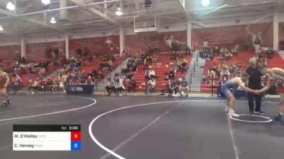 79 kg Quarterfinal - Michael O'Malley, Pennsylvania RTC vs Connor Herceg, Pennsylvania